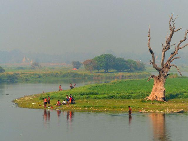 Myanmar - Pont d'U Bein - Mandalay